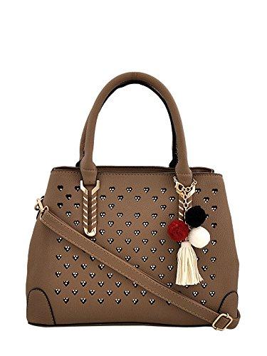 Mark & Keith Women Beige handbag (MBG 0424 BG)