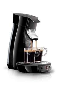 Senseo HD7825/60 Viva Café Kaffeepadmaschine (1 - 2 Tassen gleichzeitig) schwarz