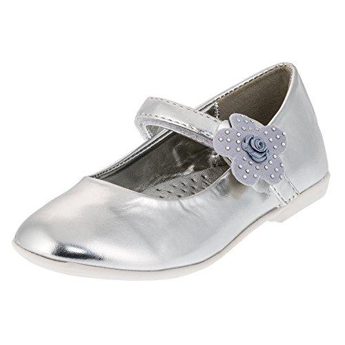 Catherine, Ballerine bambine, argento (#210si Silber), 28