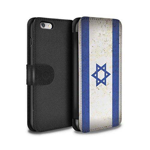 Stuff4 Coque/Etui/Housse Cuir PU Case/Cover pour Apple iPhone 5C / Arménie/Arménien Design / Drapeau Asie Collection Israël/Israélien