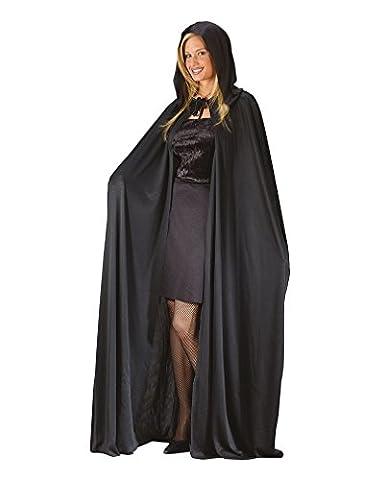 Noir Costumes Cap - cape à capuchon