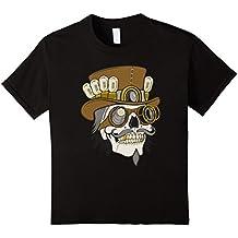 TeeToop Steampunk Skull