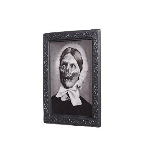 Zoelibat 97176341.008 Effektbild, Dead Granny Vexierbilder, Deko Halloween, circa 22 x 28 cm