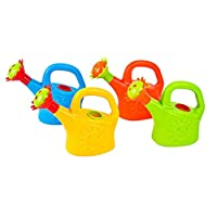 Toyvian 2PCS Watering Can Toys, Plastic Sand and Beach Toy Watering Can Toys Interesting Watering Can Toy Early Educational Toys Play House Watering Can Toy for Children (Random Color)