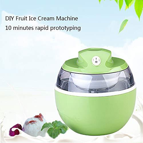 Macchina per il gelato alla frutta, manuale elettrico per uso domestico, frutta, piccolo gelato, gelato artigianale fatto in casa, cono fritto, ghiaccio, pop per bambini