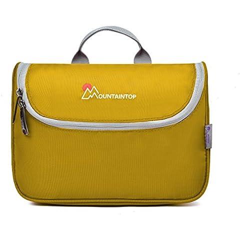 Mountaintop Neceser / Maquillaje Organizador / bolso cosmético / hogar almacenamiento Paquete / baño con colgantes vacaciones con el gancho colgante