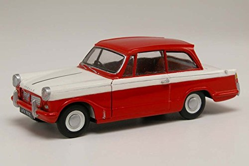 Imagen 2 de Airfix - Kit mediano con pinturas, coche Triumph Herald (Hornby A55201)