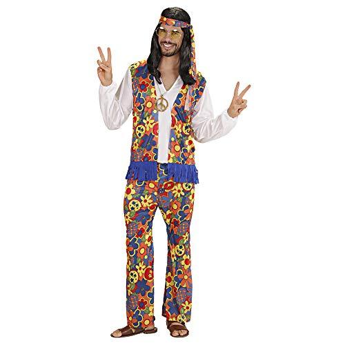 Kostüm Er Kleine Mann - Widmann - Erwachsenenkostüm Hippie Mann