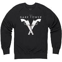 Official The Dark Tower Pistols Sudadera de cuello redondo, Para hombre