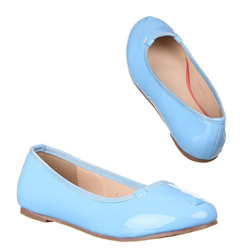 Ital-Design, Ballerine donna Blu (blu)
