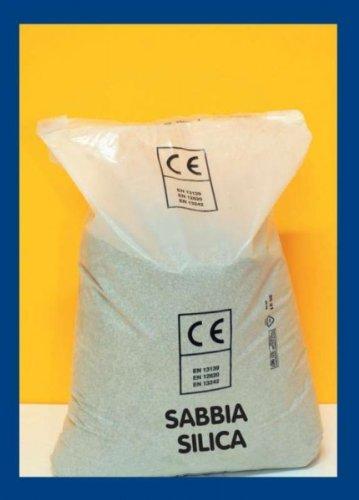 Piscine sable silice N°20- 25 kg