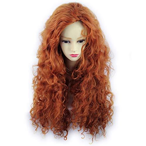 Wiwigs ® - Parrucca sexy con capelli lunghi e