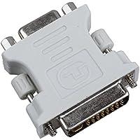 SODIAL (R) Adattatore DVI Maschio 24 piu' 5 DVI-I a VGA femmina