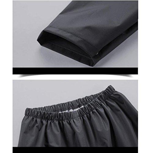 Femmes Personnalité Creative imperméable pluie pantalon costume Split adultes corps imperméable couche mince imperméable ( Couleur : A , taille : Xl ) E