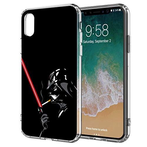Handyhülle Jedi Star Wars kompatibel für Samsung Galaxy S8 Lichtschwert Zigarette Schutz Hülle Case Bumper transparent M2 (E-zigarette Wars Star)
