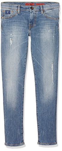 Guess Unisex Baby Jeans L71A47D2E40 Mehrfarbig (Spank Wash), 122 (Herstellergröße: 10) (Jeans Guess Baby)
