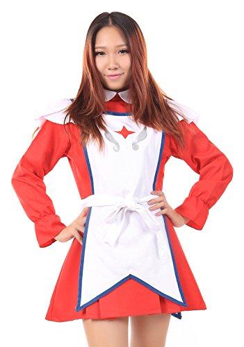 De-Cos My ZHiME, Mai-Otome, Dancing Maid Erstin Ho Etiquette Uniform Set (Mai Otome Cosplay Kostüm)