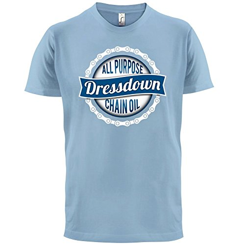 All Purpose Chain Oil - Herren T-Shirt - 13 Farben Himmelblau