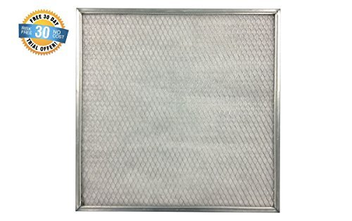 16 x 30 x 1 ELECTROSTATIC AC Furnace Air Filter Silver 94% arrestance. Lifetime Warranty. Never buy A New Filter by AirCare (Ac-filter 16x16x1)