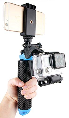 Soporte-Mango-flotante-con-gatillo-para-cmaras-deportivas-Samsung-Gear-360-Ricoh-WG-M2-Gearmax-W8-Wifi-SJCAM-SJ5000-Plus-y-smartphones-DURAGADGET