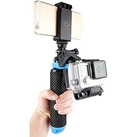 Soporte / Mango flotante con gatillo para smartphones y cámaras deportivas Sony HDR-AS50 / Kaiser Baas X150 / Eken H9 - DURAGADGET
