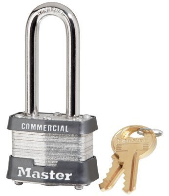 3Dlhcom Master Lock 4 Pin Tumbler Safety Padlock Keyed Diff. 1-9/16
