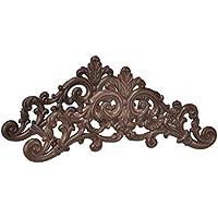 Soporte para manguera de montaje en pared, de hierro fundido, diseño antiguo