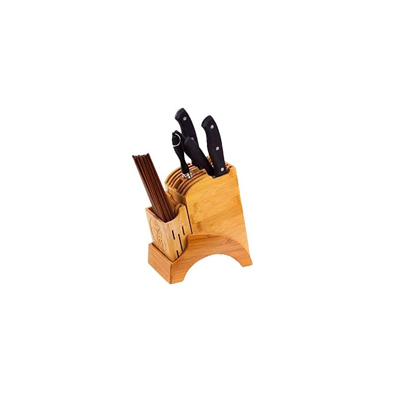 Anhpi Kchenmesser Block Set Einfacher Abnehmbarer Multifunktionaler Messerhalter Schneidebrettstnder Kchenregal Kreatives Geschirr