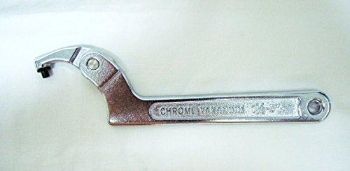 Preisvergleich Produktbild Verstellbare Hakenschlüssel Single Swinging Arm 1.1/10,2cm–7,6cm 32–75mm