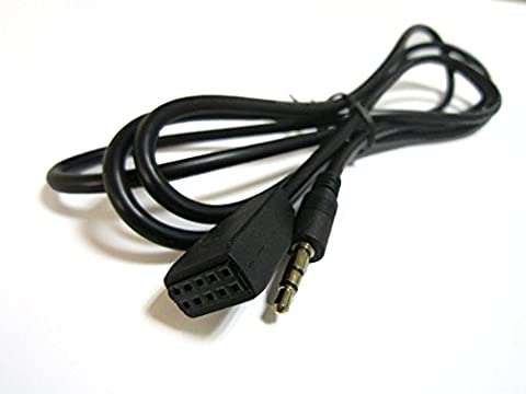Glanz @ 3,5 mm AUX Audio BMW E46 Adapter Kabel für E46 Business