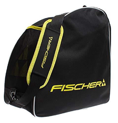 Fischer Unisex- Erwachsene Skibootbag Alpine Eco, schwarz/gelb, OneSize -