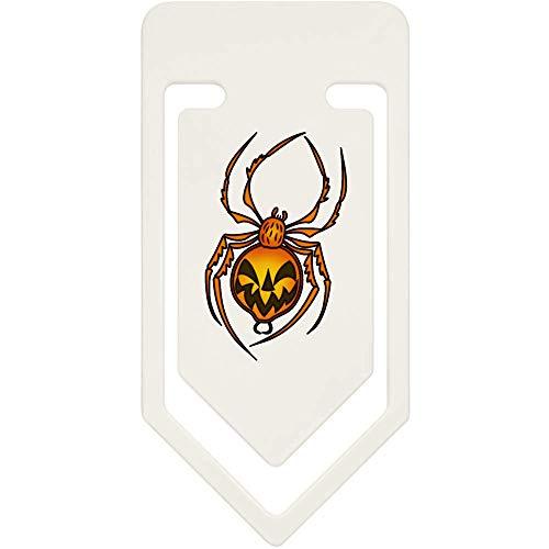 Azeeda 91mm 'Halloween Spinne' Große Plastik Büroklammer (CC00040453)