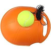 Entrenador de tenis Rebound con cadena y bola para principiantes (naranja)