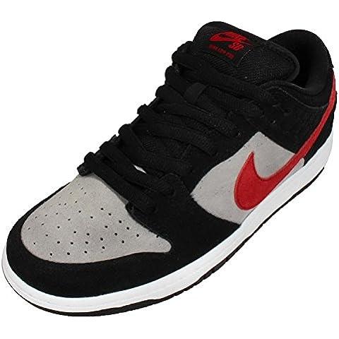 Nike Men's Dunk Low Premium SB QS , PRIMITIVE-BLACK/VARSITY RED-MEDIUM