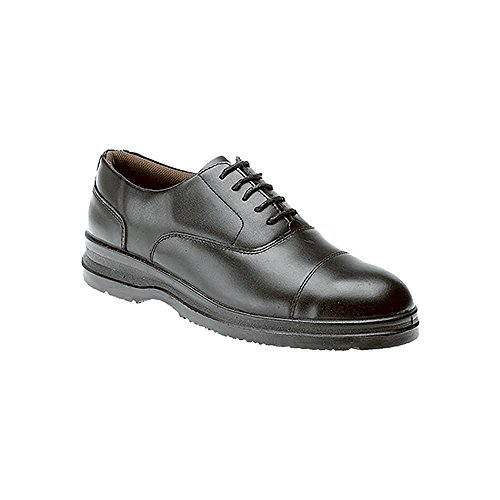 GRAFTERS M775A Safety Capped Oxford Work Shoe EN ISO 20345 2004: Black: UK 9