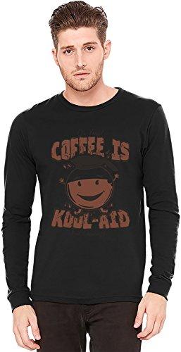 coffee-is-kool-aid-a-maniche-lunghe-t-shirt-long-sleeve-t-shirt-100-preshrunk-jersey-cotton-small