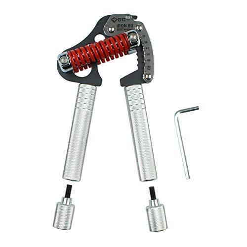 DerShogun Fingerhantel Iron 8 EXT Modell mit langem Griff