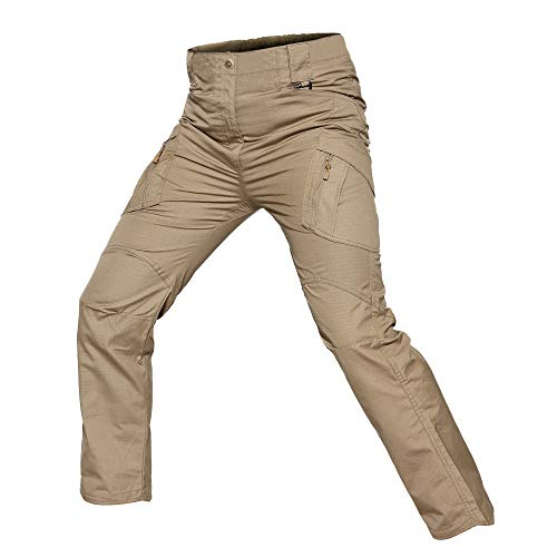 UFACE Herren Arbeitshose Stretch Cargo Pants Loose Casual mit Mehrere Tasche Sport Arbeit Freizeit Cargohose Herren Winter Cargohose Herren schwarz