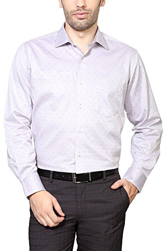Van Heusen Men Comfort Fit Shirt_vhsf515m11175_38_lilac