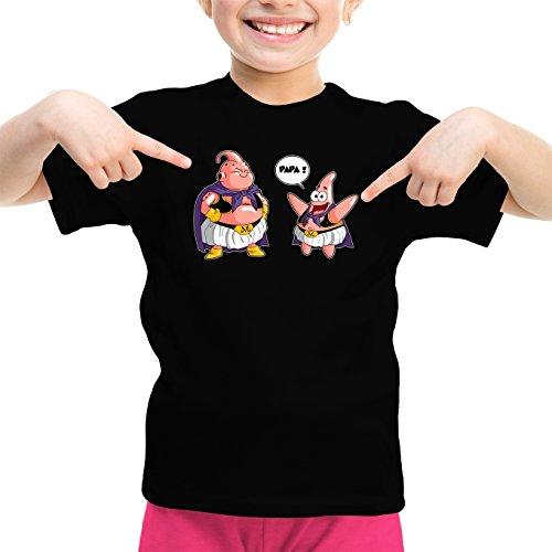 T-Shirts Dragon Ball Z - Bob l'éponge parodique Majin BOU Patrick : Papa !! (Tel père, tel Fils !) (Parodie Dragon Ball Z - Bob l'éponge)