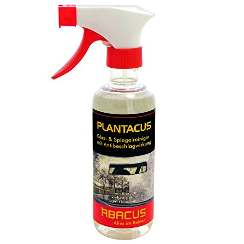 ABACUS Antibeschlag Plantacus 300 ml Glasreiniger Spiegelreiniger Antibeschlagreiniger Anti-Fog Fensterreiniger Brillengläserreiniger Antibeschlag-Reiniger Antibeschlagspray Antibeschlagmittel