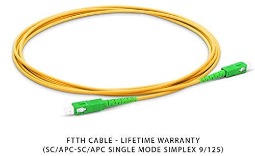 Cable Fibra Óptica Router - Latiguillo Monomodo FTTH