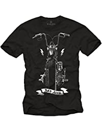 Tee Shirt Sons of Anarchy Homme BAD SEED Moto