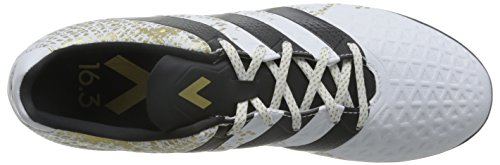 adidas Ace 16.3 Tf, Chaussures de Football Homme Blanc (Ftwr White/core Black/gold Met.)