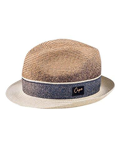 Capo Unisex Fedora Sidney Hat Rot (bronze 96)
