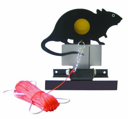 Gamo Zielscheibe Rat Target Klappfallscheibe, schwarz, 200376