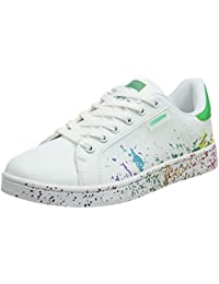various colors d345e 5f746 JEDVOO Uomo Donna Sneakers Scarpe da Ginnastica Basse Running Tennis Scarpe  Foundation