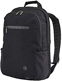 "Wenger 602809 CityFriend 15.6"" Laptop Backpack, Padded laptop compartment with iPad/Tablet / eReader Pocket in Black"