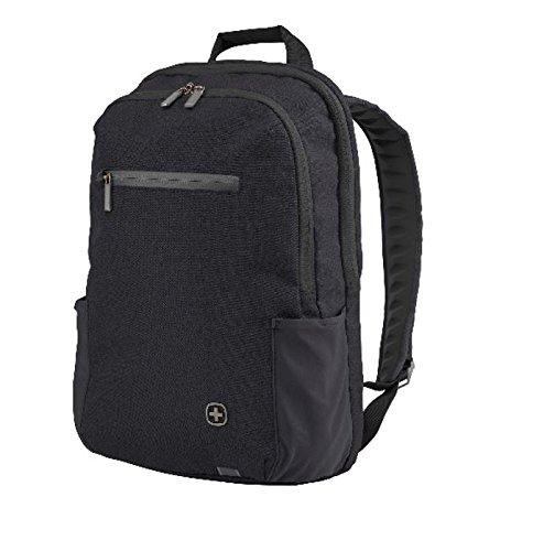 """Wenger 602809 CityFriend 15,6"""" Laptop-Rucksack, gepolsterte Laptopfach mit iPad/Tablet / eReader Tasche in schwarz"""