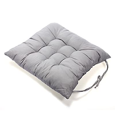 NO:1 40x40cm Home Office Soft Seat Cushion Buttocks Chair Cushion Pads Grey